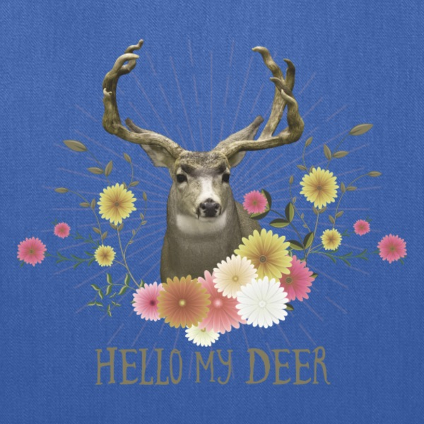 Hello my Deer | Design your own Fun-Shirts Bags & backpacks - Tote Bag