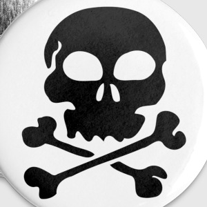 Skull And crossbones - Large Buttons