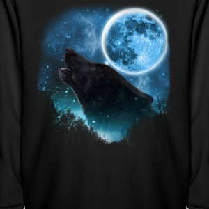Black Wolfs Skylight 3pxc Kids' Shirts - Kids' Long Sleeve T-Shirt