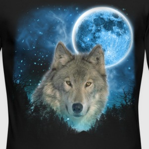 Grey Wolfs Skylight 3pxc Long Sleeve Shirts - Men's Long Sleeve T-Shirt by Next Level