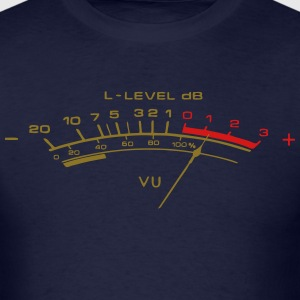 vu meter shirt - Men's T-Shirt