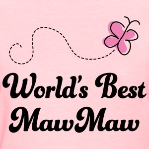 Worlds Best MawMaw Women's T-Shirts - Women's T-Shirt