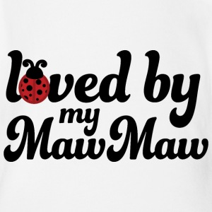 Loved By My MawMaw Baby & Toddler Shirts - Short Sleeve Baby Bodysuit