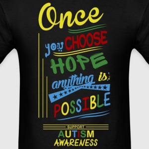 Support Autism Awareness - Men's T-Shirt