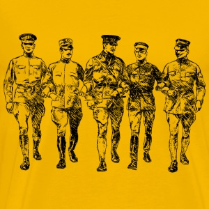 World War I soldiers - Men's Premium T-Shirt