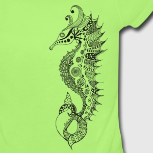 South Seas Sea Horse Baby & Toddler Shirts - Short Sleeve Baby Bodysuit