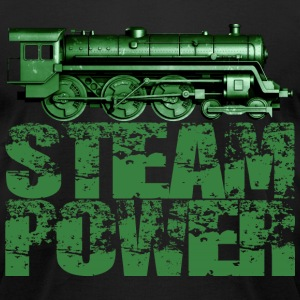 Steam Power #1A T-Shirts - Men's T-Shirt by American Apparel