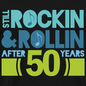50th Anniversary rock and roll T-Shirts - Men's Premium T-Shirt