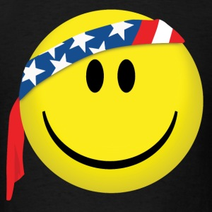 Happy Face USA - Men's T-Shirt