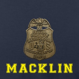 BURT MACKLIN! FBI! - Men's T-Shirt by American Apparel