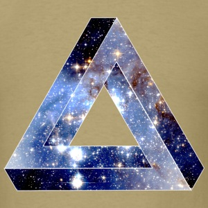 Penrose Triangle Hipster T-Shirts - Men's T-Shirt