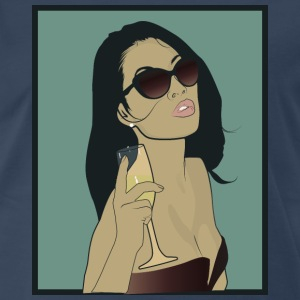 Sexy Asian Lady - Men's Premium T-Shirt