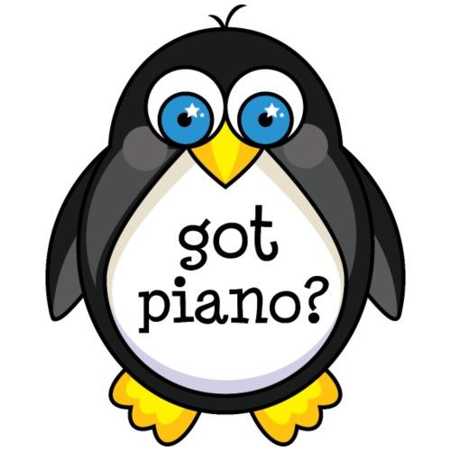 Cute Piano Music Penguin