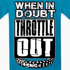 MX Doubt Throttle Out Kids' Shirts