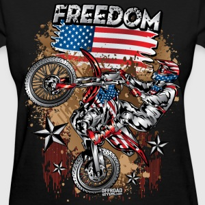 Motocross USA Women's T-Shirts - Women's T-Shirt