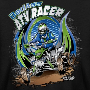 ATV Racer Motocross Kids' Shirts - Kids' Long Sleeve T-Shirt