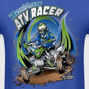 ATV Racer Motocross T-Shirts - Men's T-Shirt