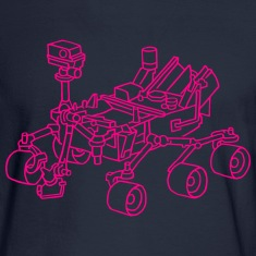 Curiosity, the Marsrover Long Sleeve Shirts