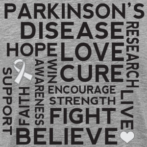 Parkinsons Disease awareness T-Shirts - Men's Premium T-Shirt