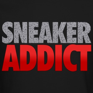 sneaker addict speckled Long Sleeve Shirts - Crewneck Sweatshirt