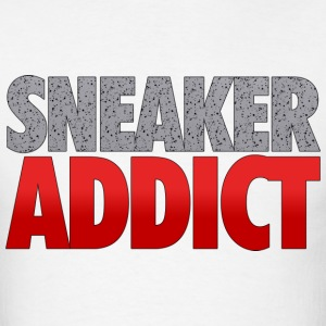 sneaker addict speckled T-Shirts - Men's T-Shirt