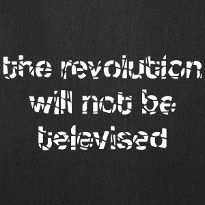 revolution televised Bags & backpacks - Tote Bag