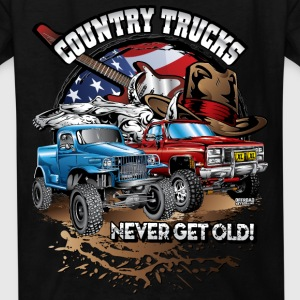 Country Off-Road Trucks Kids' Shirts - Kids' T-Shirt