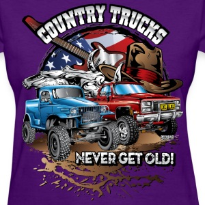 Country Off-Road Trucks Women's T-Shirts - Women's T-Shirt