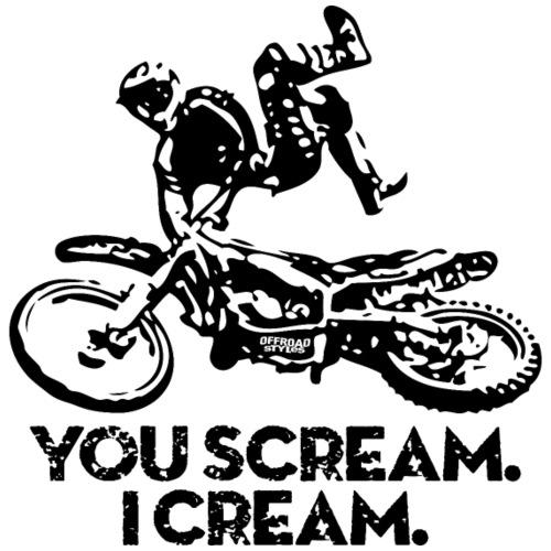 FMX Dirtbike Scream Cream