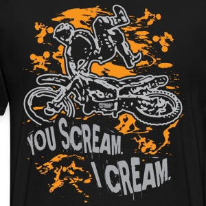Freestyle Scream Cream T-Shirts - Men's Premium T-Shirt