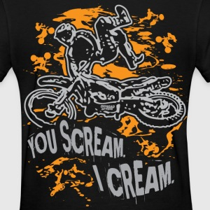 Freestyle Scream Cream Women's T-Shirts - Women's T-Shirt