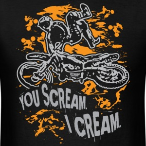 Freestyle Scream Cream T-Shirts - Men's T-Shirt