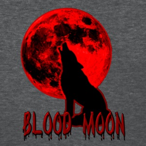 Blood Moon Wolf Women's T-Shirts - Women's T-Shirt