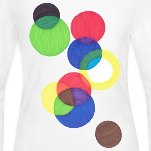 Circles - Women's Long Sleeve Jersey T-Shirt