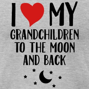 I Love My Grandchildren To The Moon And Back T-Shirts - Men's T-Shirt by American Apparel