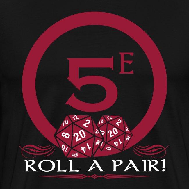 Roll A Pair Men's Premium T-Shirt