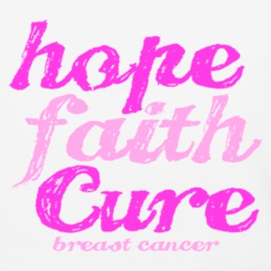hope faith cure T-Shirts - Baseball T-Shirt