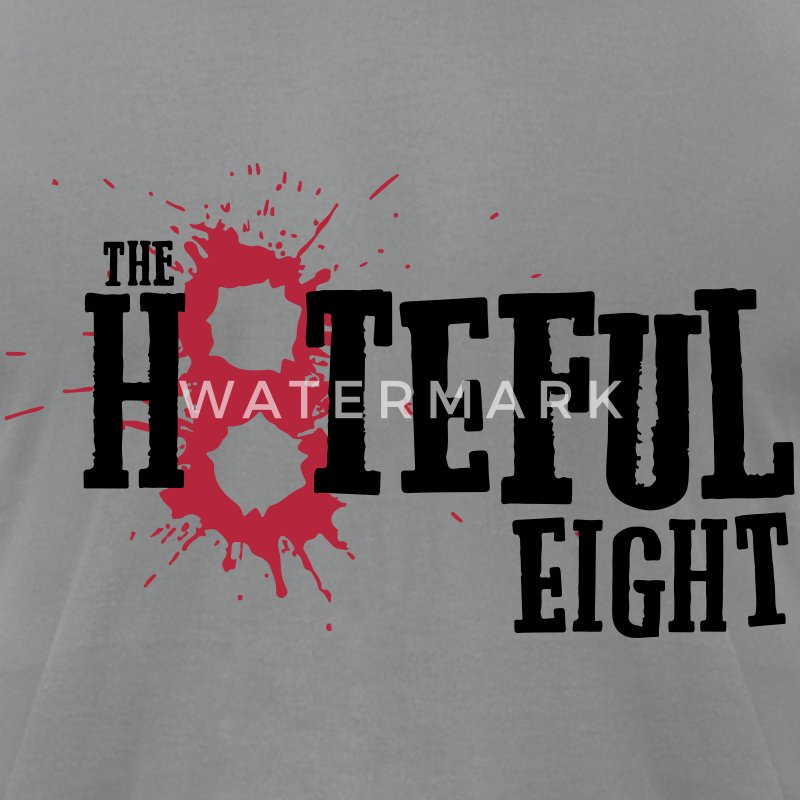 the Hateful Eight 8 Blood | Tarantino's Movie T-Shirts - Men's T-Shirt by American Apparel