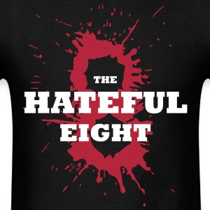 the Hateful Eight Big 8 Blood | Tarantino's Movie T-Shirts - Men's T-Shirt