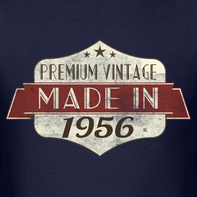 Vintage 1956 60th Birthday T Shirts