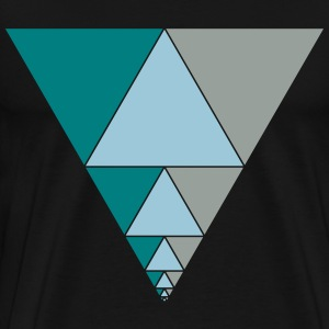 Triangle Series Proof T-Shirts - Men's Premium T-Shirt