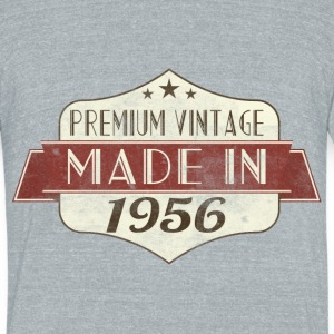 Vintage 1956 60 Birthday T-Shirts - Unisex Tri-Blend T-Shirt by American Apparel