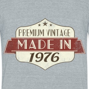 vintage 1976 40th Birthday T-Shirts - Unisex Tri-Blend T-Shirt by American Apparel