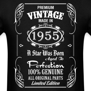 Premium Vintage Made In 1955 T-Shirts - Men's T-Shirt