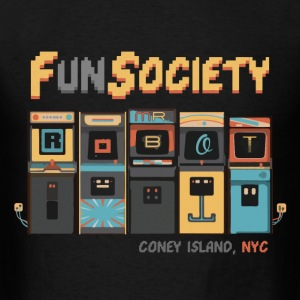 fsociety | fun society | mr. robot Hoodies - Men's T-Shirt