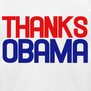 Thanks OBAMA - Men's T-Shirt by American Apparel