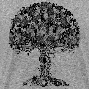 An ancient magical tree T-Shirts - Men's Premium T-Shirt