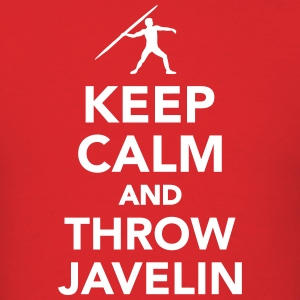 Keep calm and throw Javelin T-Shirts - Men's T-Shirt