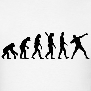 Evolution Shot put T-Shirts - Men's T-Shirt
