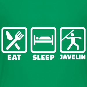Eat Sleep Javelin Kids' Shirts - Kids' Premium T-Shirt